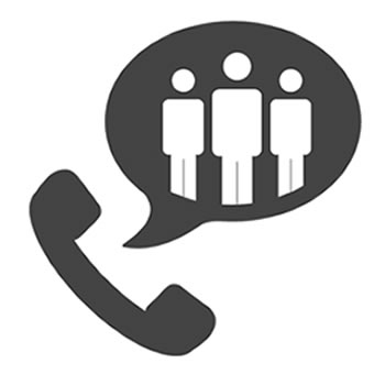 Users can get IT support by telephone or email